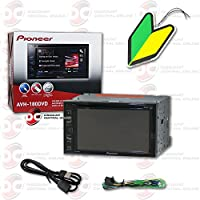 2015 Pioneer 6.2 Touchscreen Double Din 2DIN DVD MP3 CD Player Pandora Support with FREE Squash Air Fresheners