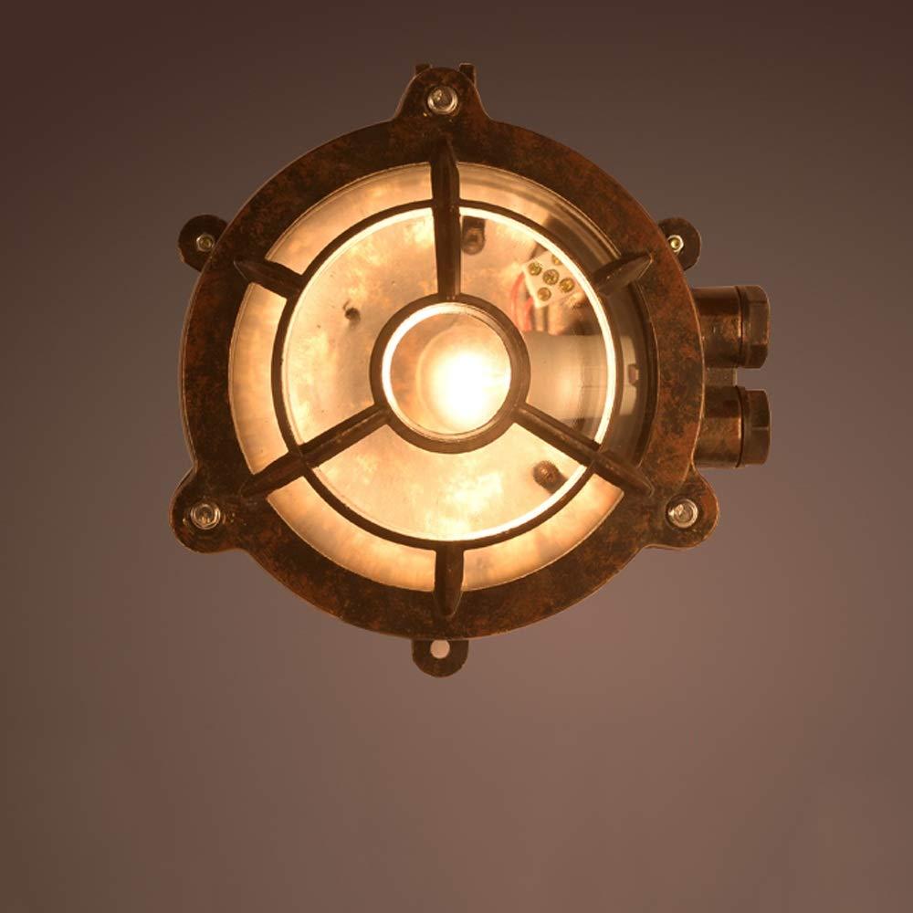 Modenny Applique da parete a LED da esterno Applique da parete per esterni Applique da giardino a parete in metallo resistente all'acqua (Dimensione   A)
