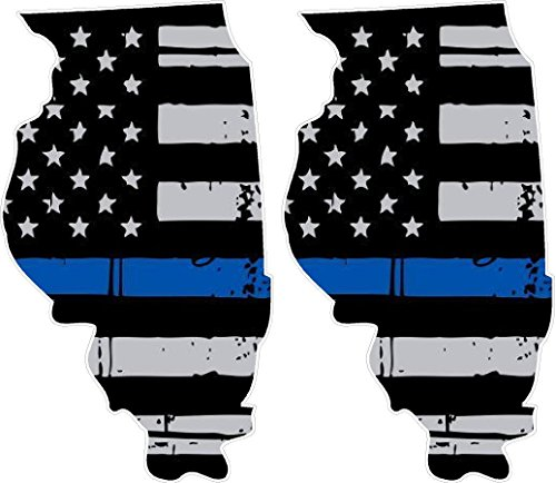 Thin Blue Line Illinois / PAIR / 5