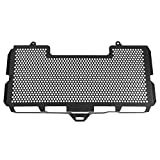 Suuonee Radiator Grille Cover, Motorcycle Aluminium Alloy Radiator Guard Protector Beehive Grille Cover for F650GS F750GS F800GS, Black