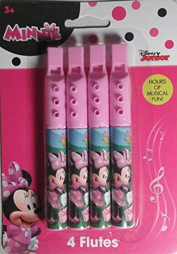 What Kids Want Disney Jr Minnie Mouse Four Flutes Party Favors ()