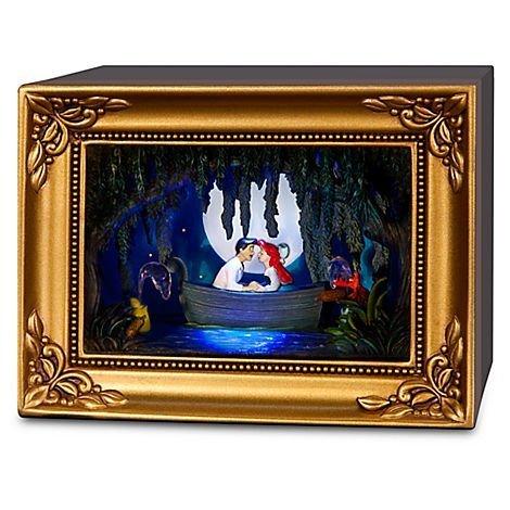 Disney Parks Olszewski Little Mermaid Gallery of Light - Ariel and Eric Kiss