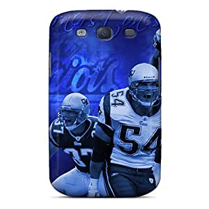 New Style Scsshop Hard Case Cover For Galaxy S3- New England Patriots