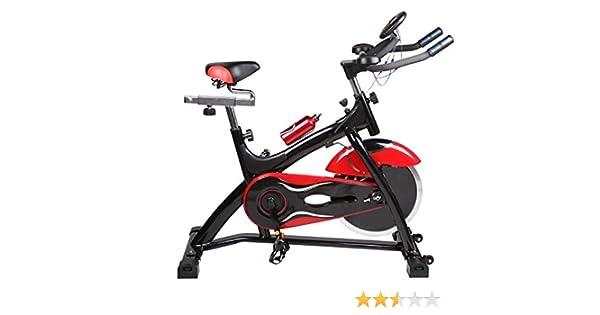 Bicicleta de Spinning Gelusa -E30 18KG de disco de inercia: Amazon ...