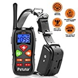 #5: Dog Training Collar 2018 Upgraded IP67 Waterproof 1800 ft Remote Range 2 Weeks Standby Time Electric Leakage Protection Shock Collar for Small Medium Large Dogs 6.6lbs-120lbs