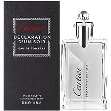 Cartier Declaration D'un Soir Eau de Toilette Spray, 1.6 Ounce