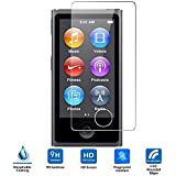 iPod Nano 7 Protecteur D'écran en Verre Trempé,VIFLYKOO 9H 0,26mm Ultra-mince Anti-empreinte Digitale HD Film Protecteur écran Tempered Glass Screen Protector pour iPod Nano 7eme generation