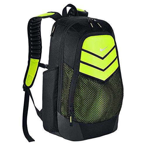 Nike Vapor Power Backpack Black/Volt (Nike Sport Ball Carry Backpack)
