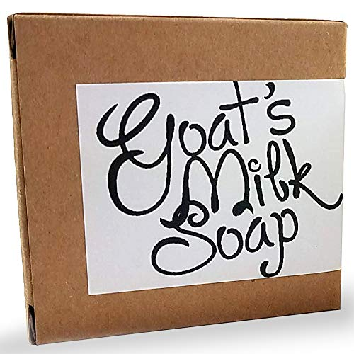 Handmade Fresh Goat's Milk Bar Soap, Olive Oil Based With Organic Shea Butter (Moroccan Vanilla, 1 bar) (Olive Oil Goats Milk Soap)