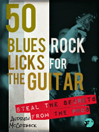 (50 Blues Rock Licks for the Guitar)