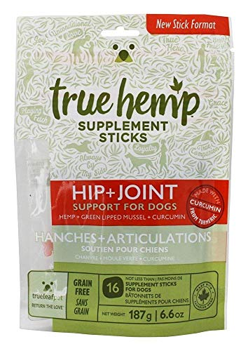 True Leaf Pet Natural Supplement Sticks - 6.6 oz | Support Hip and Joint Function for Dogs | Grain Free & Non-GMO
