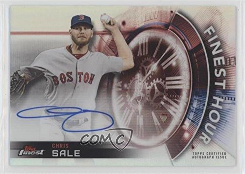 Baseball Sale Chris (Chris Sale (Baseball Card) 2018 Topps Finest - Finest Hour Autographs #FHA-CS)