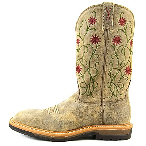 fff5a278e4b high-quality Twisted X Women's Floral Stitched Roughstock Cowgirl ...