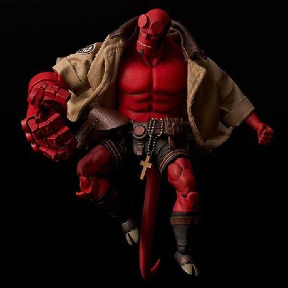 HANYUEXIA Hellboy Cloth Hell Baron Mobile Boxed Hand Office Mod/èle D/écoration