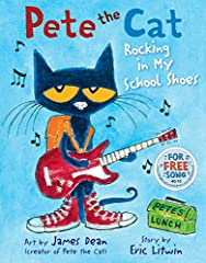 Time to head back to school with this bestselling groovy Pete the Cat book!              Pete the Cat is rocking in his school shoes. Pete discovers the library, the lunch room, the playground, and lots of other cool places at...