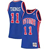Isiah Thomas Detroit Pistons Mitchell & Ness 1988-89 Hardwood Classics Swingman Jersey