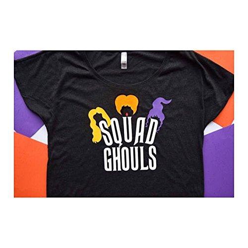 Disney Hocus Pocus Costumes (Hocus Pocus Shirt ; Squad Ghouls ; Squad Shirt ; Halloween Shirt ; Halloween Costume ; Disney Shirt ; Disney Hocus Pocus)