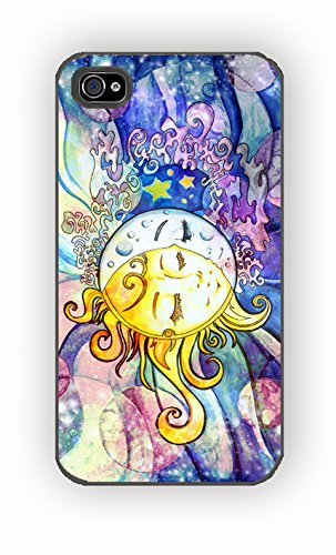 moon and sun for iPhone 4/4S Case