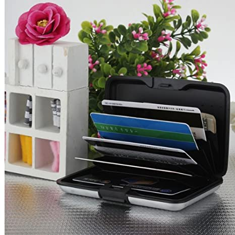 Alu Wasserdichte Kreditkarten Visitenkarten Etui Case Tasche