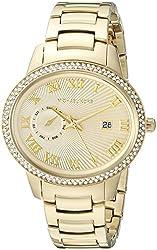 Michael Kors Women's Whitley Gold-Tone Watch MK6227
