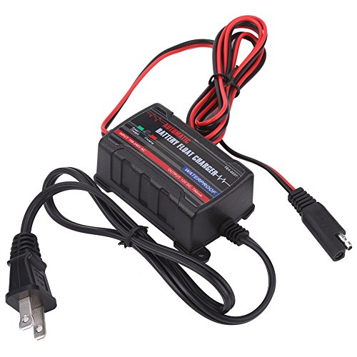 Qiilu 0.75A 6V 12V Automatic Battery Trickle Charger Main...