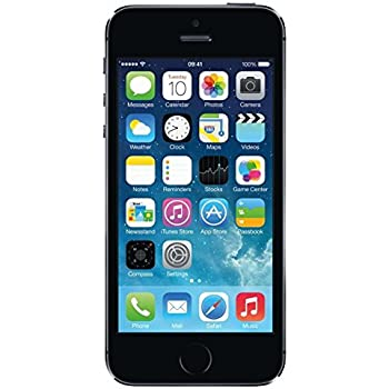 Apple iPhone 5S 16 GB Unlocked, Space Gray (Certified Refurbished)
