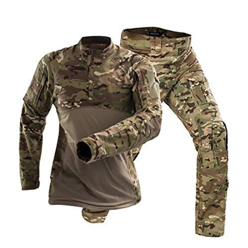 JUNSHIFU Uniforme Militar táctico del ejército Traje de ...