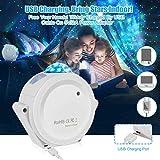 Starry Sky Projector LED Nebula Cloud Night Light 6 Colors Ocean Waving Light 360 Degree Rotation Night Lighting Lamp for Kids Party Birthday Deeply Sleep Starlight Projector