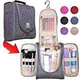 Boacay Premium Hanging Travel Toiletry Bag for Women and Men   Hygiene Bag   Bathroom and Shower...