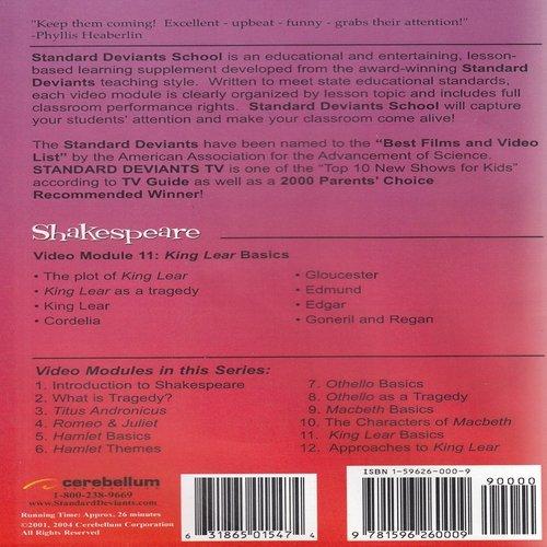 Standard Deviants School - Shakespeare, Program 11 - ''King Lear Basics (Classroom Edition)