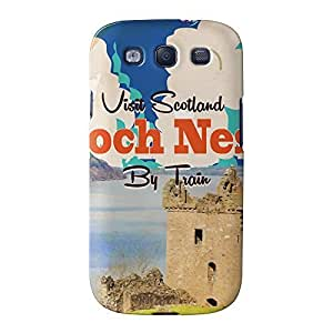 Loch Ness Full Wrap High Quality 3D Printed Case for Samsung? Galaxy S3 by Nick Greenaway + FREE Crystal Clear Screen Protector hjbrhga1544