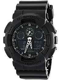 Casio - G-Shock - Ana-Digi - Matte Black - GA100MB-1A