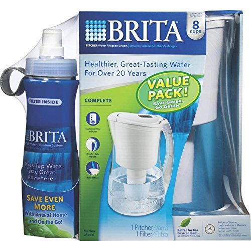 Brita Pitcher Plastic 8-8 Oz Boxed by Clorox (Image #1)