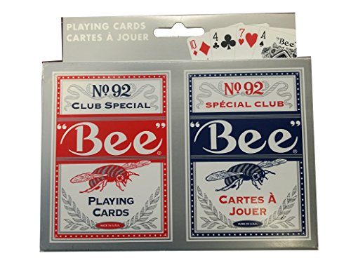 Bee No.92 Club Special Playing Cards 2 Deck Set