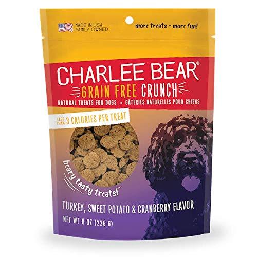 - Charlee Bear Grain-Free Bear Crunch Turkey, Sweet Potato & Cranberry Flavor 8 oz