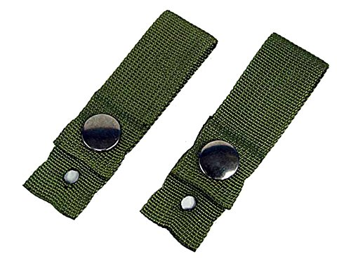 Tactical Helmet Retention Straps Goggle Sling Paintball Airsoft Military OD