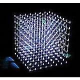8x8x8 LED Cube Kit White
