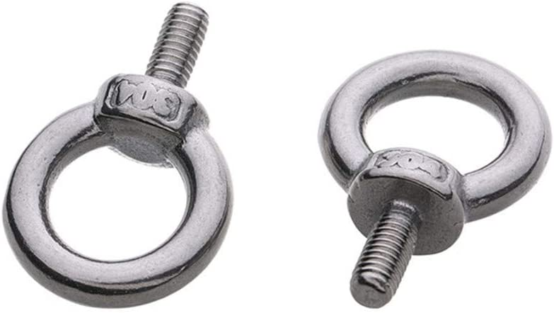 5pcs Lifting Eye Nut Ring Loop Hole Thread Nuts 304 Stainless Steel M6 M8 M10 M12 For Marine Hardware M8