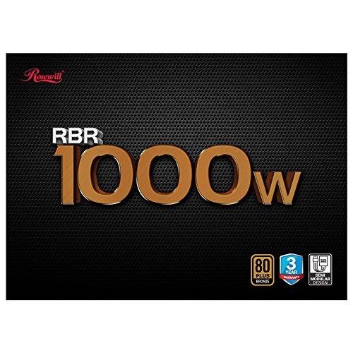 rosewill gaming power supply psu 1000 watt 1000w 80 plus bronze