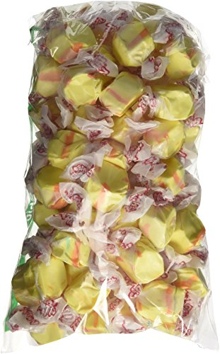 Banana Yellow Gourmet Salt Water Taffy 1 Pound Bag
