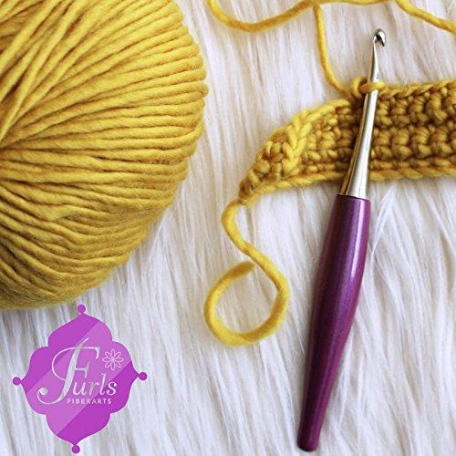 Furls Odyssey Purple Crochet Hook 6'' (4.00 mm (G))