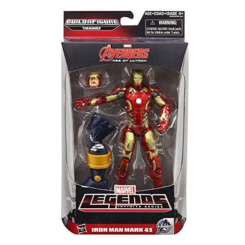 Marvel Legends Infinite Series Iron Man Mark 43 6-Inch Figure [japannese (Mark 6 Iron Man Suit)