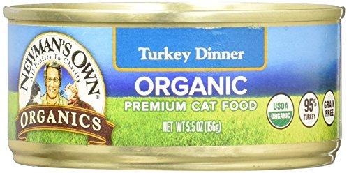 Newman's Own Organics 95% Turkey Dinner Grain-Free Food for