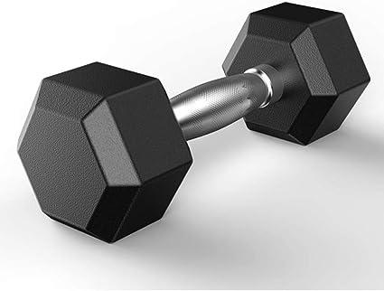 Rubber Encased Hex Dumbbell 5-50 Pounds Hex Rubber Weights PLEASE READ DESCRIPT