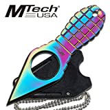 MTech-USA-MT-588-Series-Fixed-Blade-Neck-Knife-Grenade-Style-Handle-4-14-Inch-Overall