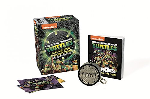 Teenage Mutant Ninja Turtles: Light-and-Sound Talking Keychain and Illustrated Book (Miniature Editions)