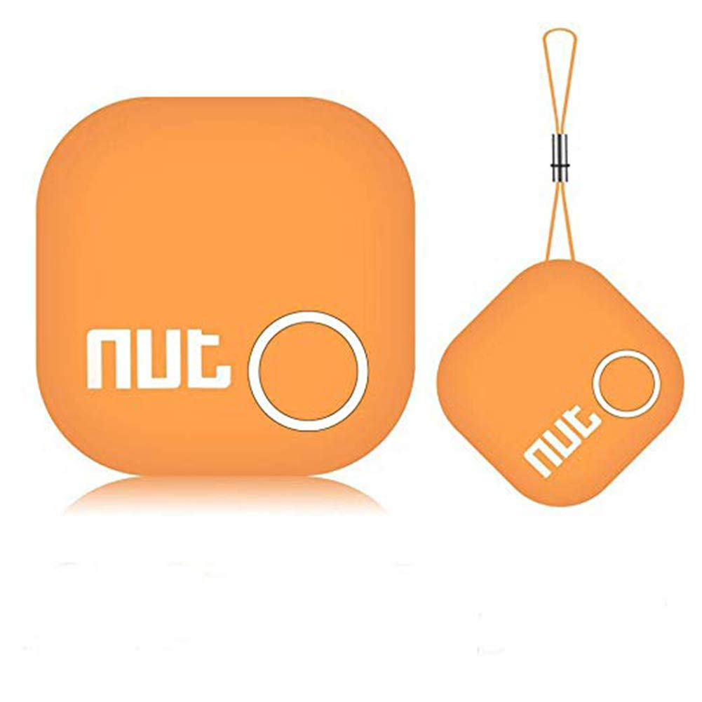SPORS Two-Way Alarm Intelligent Positioning Mobile Phone Bluetooth Anti-Lost Device, find The Patch Keychain Anti-Lost Artifact-Orange by SPORS