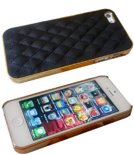 Luxus-Designer Quilted-Stil iphone 5 5S Hard Hülle Case Back Cover