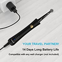 Electric Toothbrush Clean as Dentist Power Rechargeable Battery Toothbrush  with Timer Rotating Toothbrush 3 Modes Waterproof with 2 Brush Heads for