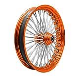Ride Wright Wheels 18x10.5-50_COP-Rm_STD-Np_STNLS-Sp_COP-Hb Fat 50-Spoke Original ''Fat Daddy'' Omega Wheel Copper Copper